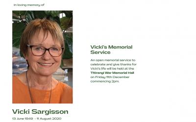 Vicki Sargisson Memorial