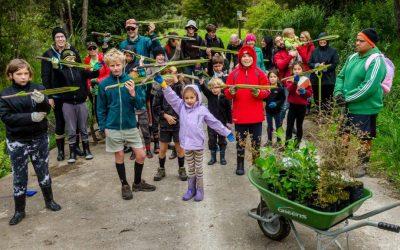 Kiwi Conservation Club visit