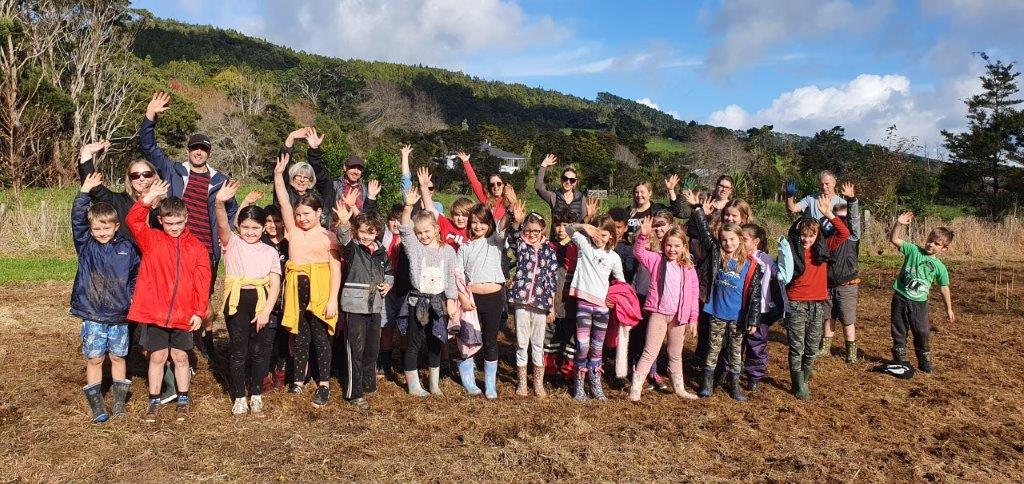 Henderson Valley School visit